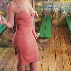 Pink party/cocktail dress